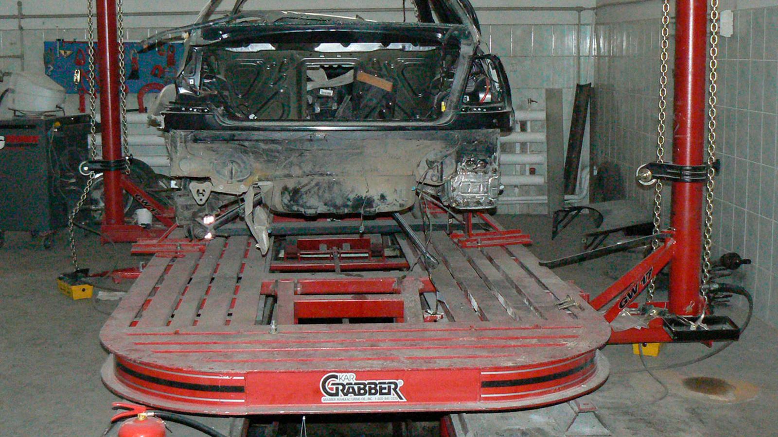 Стапель для кузовного ремонта Kar Grabber G Force