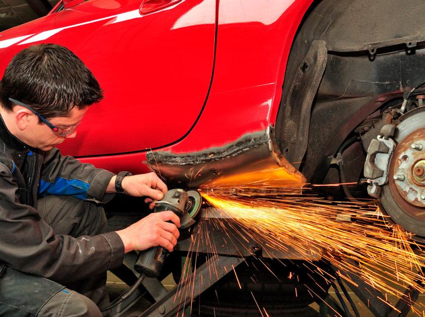 Кузовные работы - частный мастер в гараже